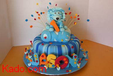 Strange Blue Tiger Birthday Cake Kado Com Funny Birthday Cards Online Aeocydamsfinfo
